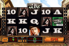 Cowboys And Aliens Online Slot